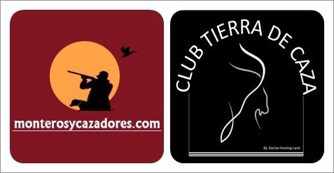 combi logos monteros y cazadores club tierra de caza